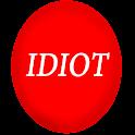 Funny Idiot Button logo