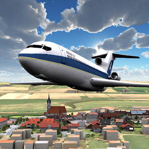 Airplane 3D flight simulator for PC and MAC