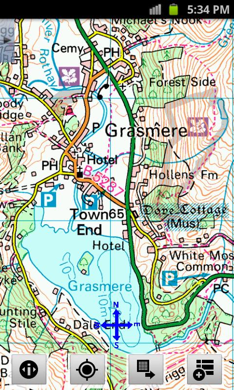 Outdoor Map Navigator - screenshot
