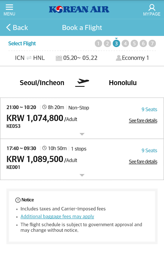 korean air   android apps on google play