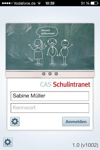 CAS Schulintranet x5