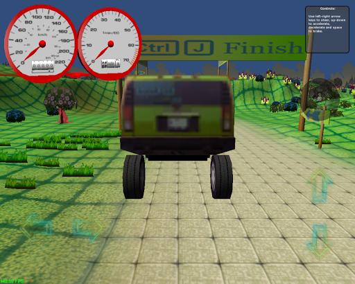 SUV車のシミュレータ4×4