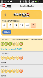Lottery Results – theLotter - screenshot thumbnail