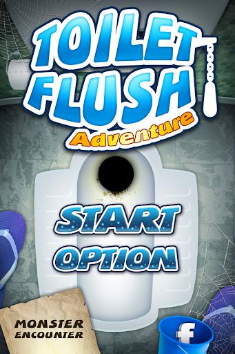 Toilet Flush Adventure