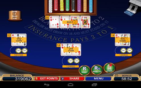 blackjack online casino google charm download
