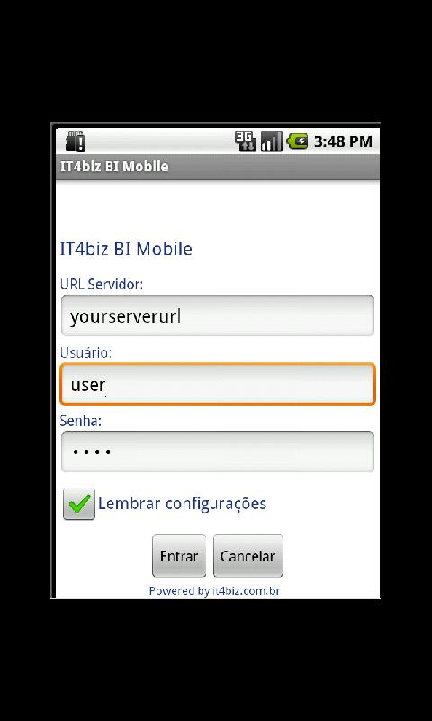 IT4biz BI Mobile - screenshot