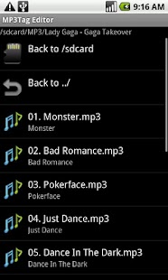 MP3 Tag Editor - screenshot thumbnail