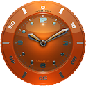 Clock Widget orange HQ