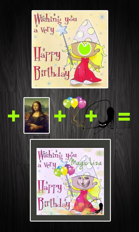 iFaceInCardFree-greeting cards - screenshot