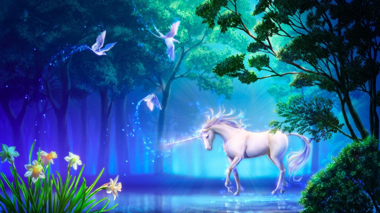 Hd wallpaper unicorn - Unicorn Wallpaper Hd Screenshot