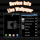 Device Info - Live Wallpaper