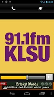 Screenshot of KLSU