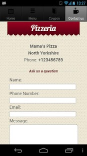 Pizza Restaurant App - screenshot thumbnail
