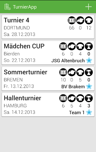 Turnier App DEMO