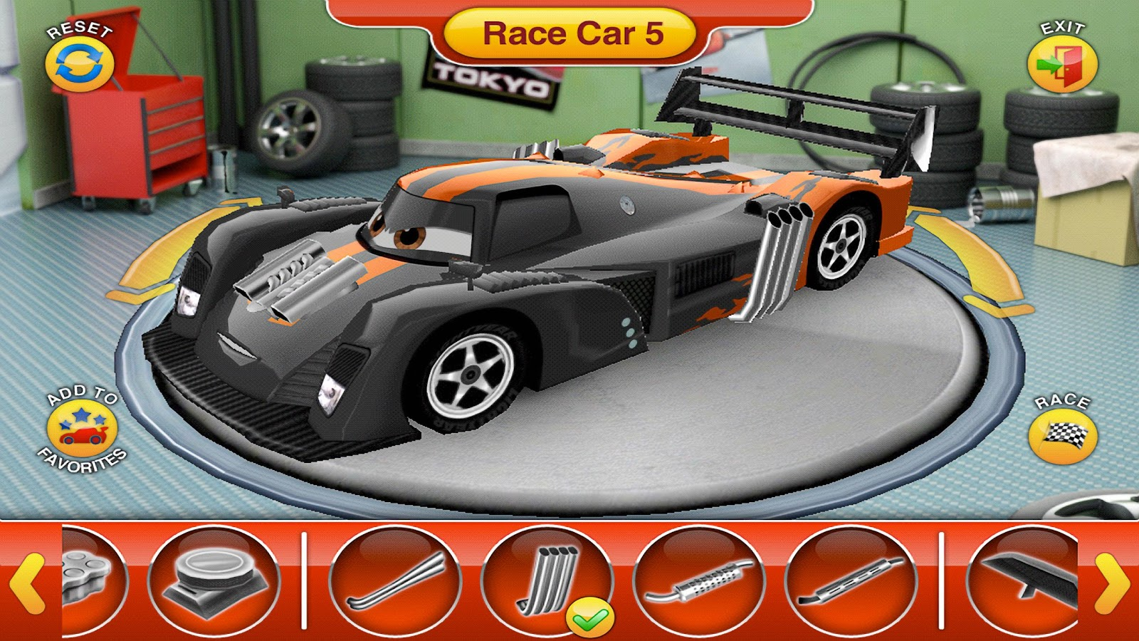 Coloring cars 2 games - Cars 2 Read And Race Screenshot