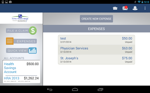 FIFTH THIRD BANK HSA - screenshot thumbnail