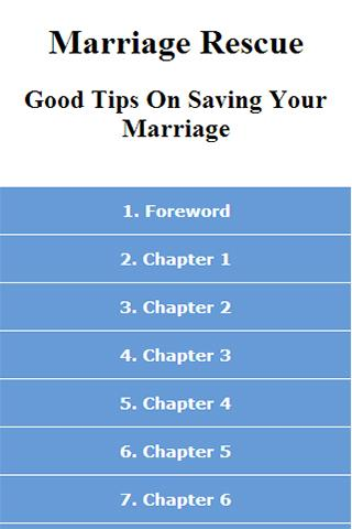 Tips On Saving Your Marriage