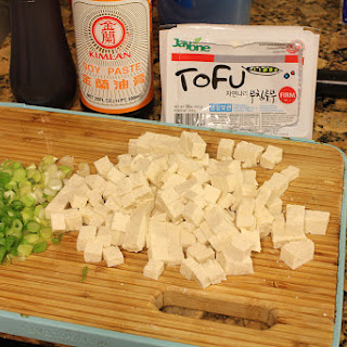 Tofu in Soybean Paste