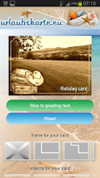 Screenshot of Urlaubskarte.eu