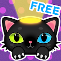 Cute Cat Flash (flashlight) icon