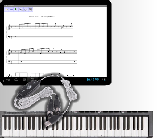 Midi instruments Pro+USB