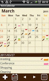 NoteCalendar Free - screenshot thumbnail