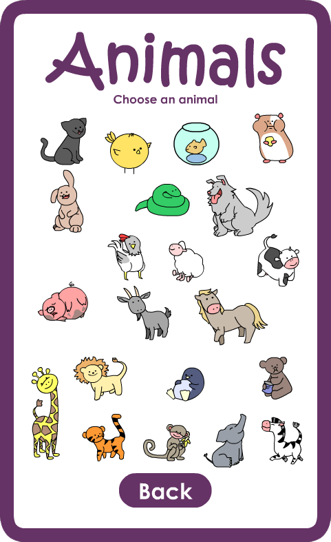 Primary Sign Flash Cards- screenshot