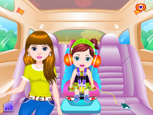 赤ちゃん旅行ゲーム