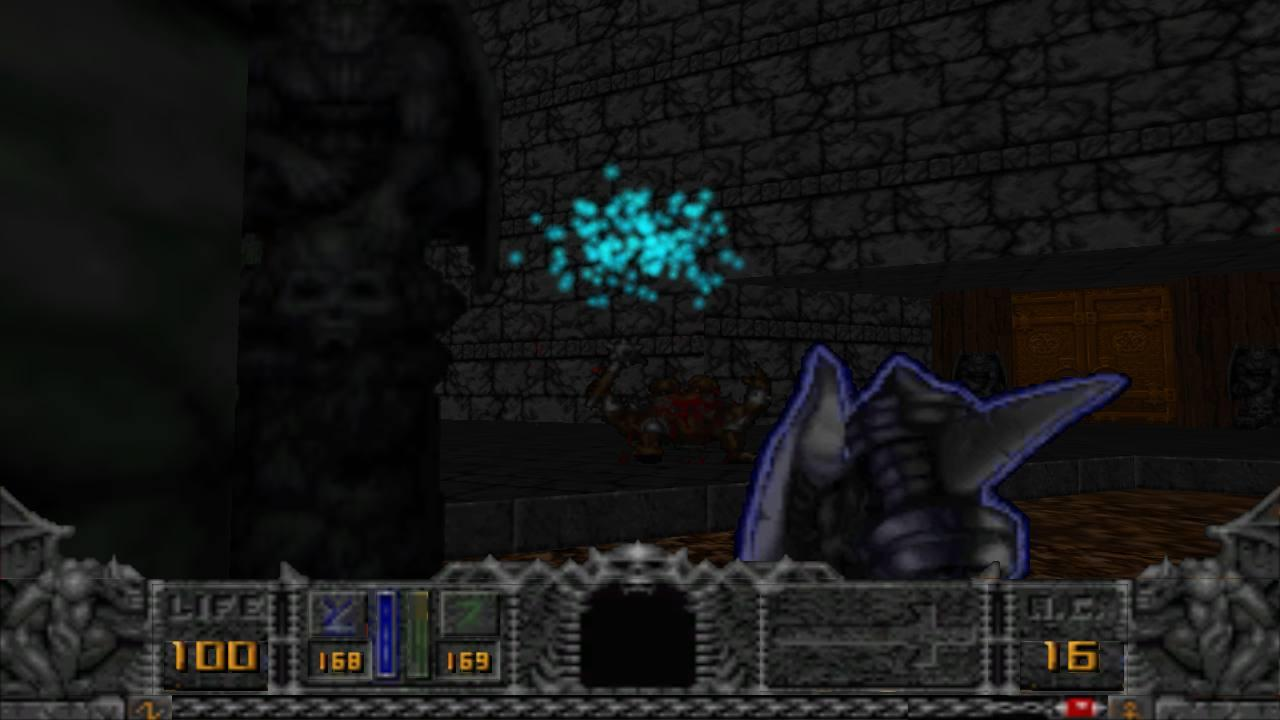 Hexen GLES - screenshot