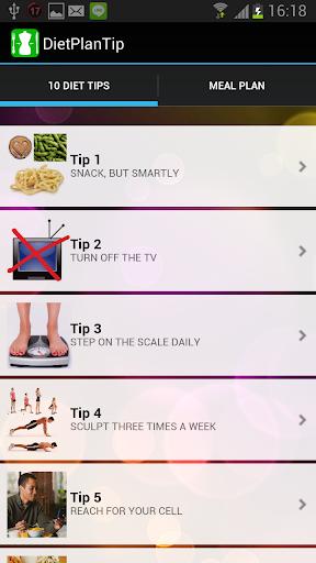 Diet Plan Tip - Weight Loss