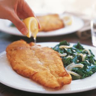 Fried Catfish and Greens