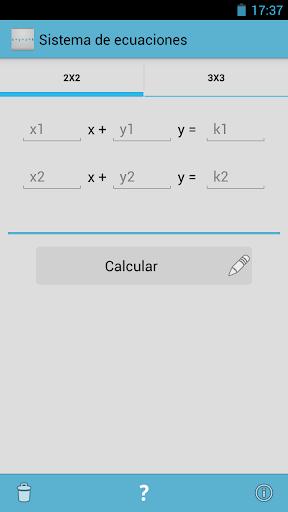 Sistema de ecuaciones PRO