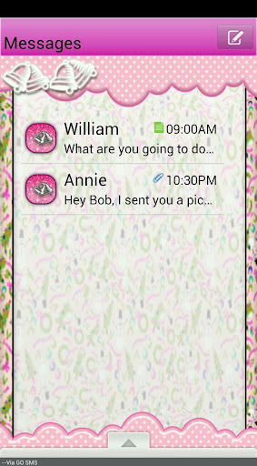 GO SMS THEME SnowmanXmas2