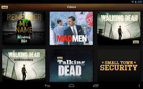 AMC Mobile for tablet - screenshot thumbnail