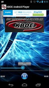 KBOE Android Player - screenshot thumbnail
