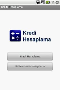 Kredi Hesaplama - screenshot thumbnail