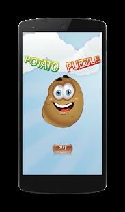 Potato Farm Candy Puzzle Game