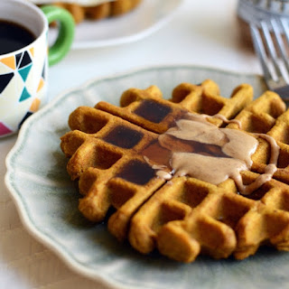 The Best Ever Gluten-Free Pumpkin Waffles