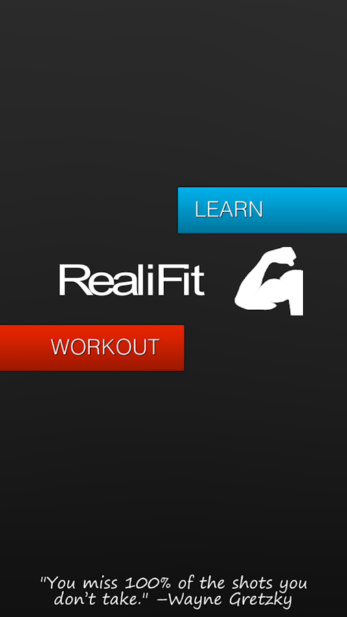RealiFit- screenshot