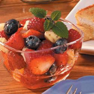 Honey Fruit Salad.