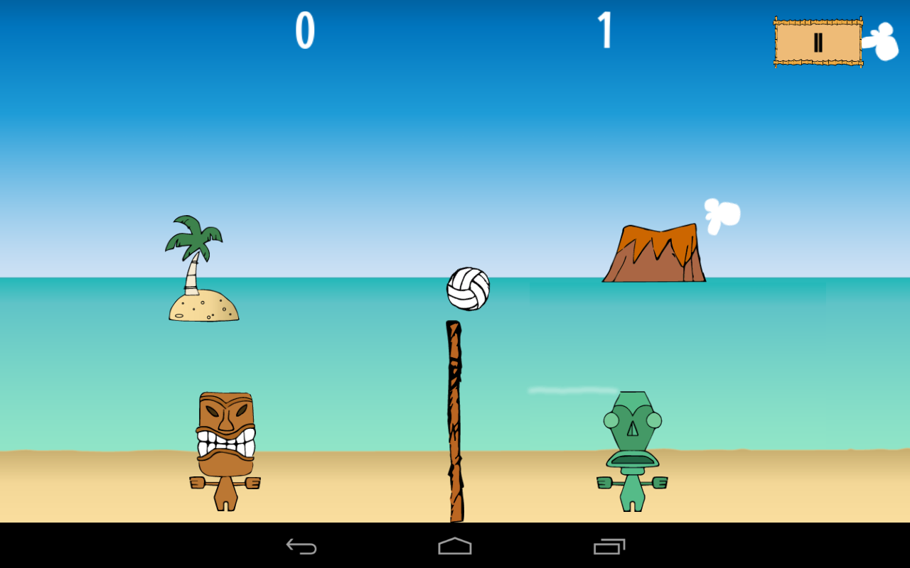 Tikiball - beach volleyball- screenshot