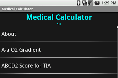 Medical Calculator