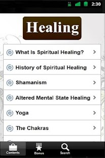 Spiritual Healing Guide - FREE - screenshot thumbnail