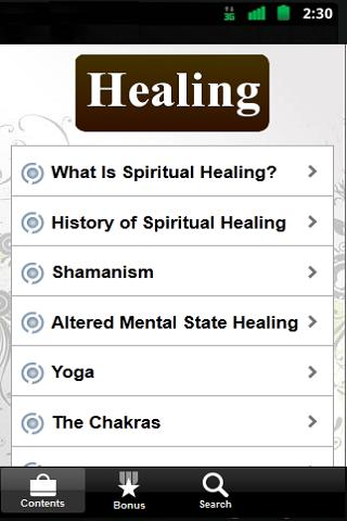 Spiritual Healing Guide - FREE - screenshot
