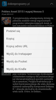 Screenshot of Polska Prasa RSS