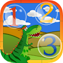 Dino Preschool Learning Games icon