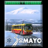 Horarios  3 de Mayo Bariloche
