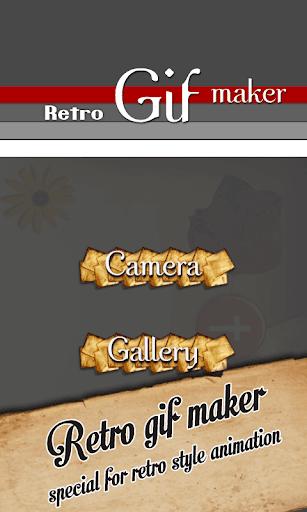 Gif Camera - Retro Effect