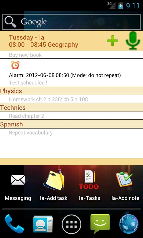 Smart Timetable Planner 3.0- screenshot