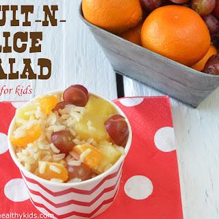 Fruit-n-Rice Salad.